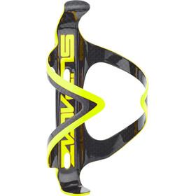 Supacaz Fly Cage Carbon - Portabidón - amarillo/negro